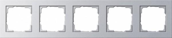 Gira 021525 Alu Rahmen E2 5fach