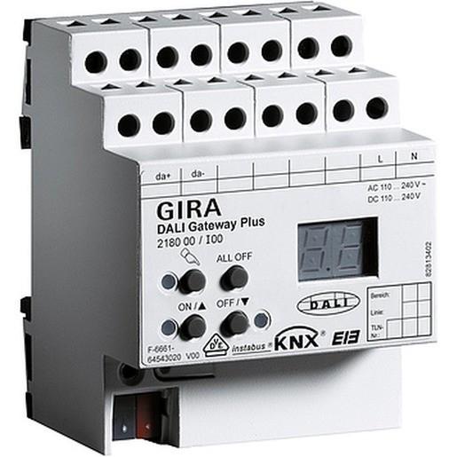 Gira 218000 DALI Gateway Plus REG