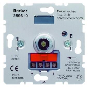 BERKER 289610 Elektronisches Tast-Drehpotentiometer 1-10 V
