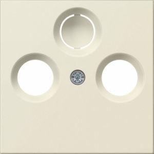 Gira 086901 Abdeckung für Antennendose Cremeweiß glänzend