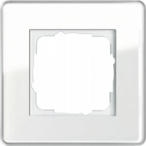GIRA 0211512 Esprit Abdeckrahmen Weiß Glas C 1-fach