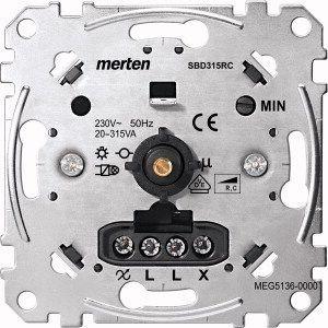 MERTEN MEG5136-0000 Drehdimmer-Einsatz für kapazitive Last