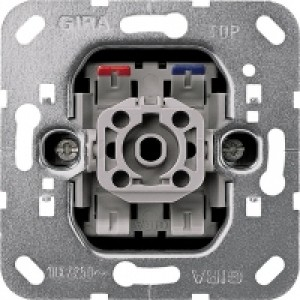 GIRA 011600, Kontrollschaltereinsatz Aus-/ Wechsel, beleuchtet,
