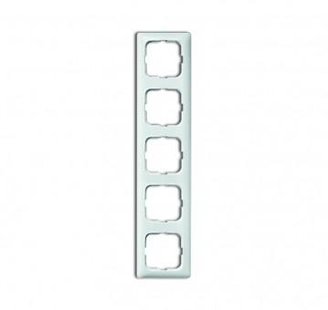 BUSCH-JAEGER 2515-214K-102 Reflex SI Linear-Abdeckrahmen 5-fach