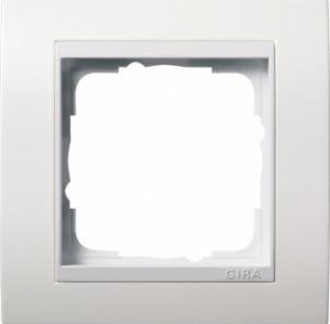 GIRA 0211803 Abdeckrahmen Event Reinweiß glänzend 1-fach