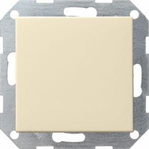 Gira 012601 Tastschalter komplett mit Wippe fuer Universal Aus Wechsel Cremeweiß glänzend