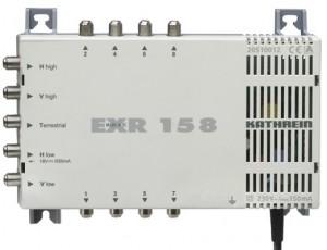 Kathrein Umschaltmatrix EXR 158 5 Eingänge 8 Ausgänge aktiv