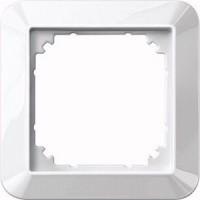 MERTEN 389119 1-M-Rahmen, Polarweiß glänzend 1-fach