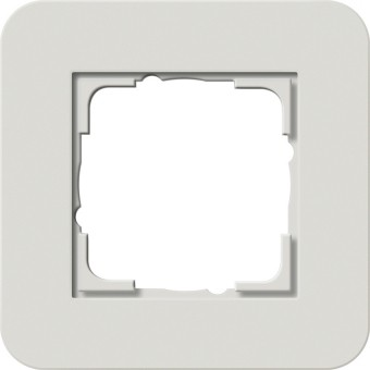 GIRA 0211411 Abdeckrahmen E3 Hellgrau/Reinweiß 1-fach