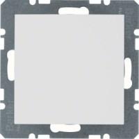 BERKER 10091909 Blindverschluss mit Zentralstück Polarweiß matt