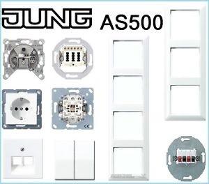 1 familienhaus paket alpinwei as 500 jung jung. Black Bedroom Furniture Sets. Home Design Ideas