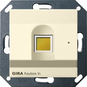 Gira 260701 Keyless In Fingerprint-Leseeinheit Cremeweiß glänzend