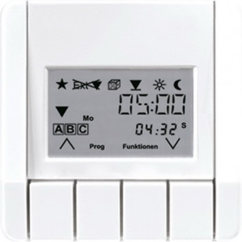 JUNG TRUDLS231WW Raumtemperaturregler mit Display Alpinweiß