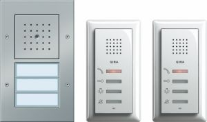 GIRA 049544 Zweifamilienhaus-Paket Audio