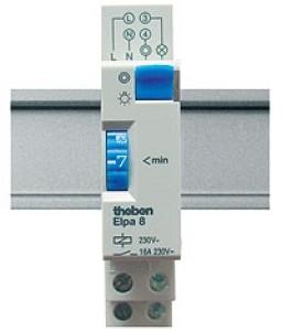 Theben ELPA8 Elektromechanischer Treppenlichtzeitschalter