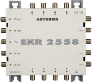Kathrein Umschaltmatrix EXR 2558 5 Eingänge 8 Ausgänge passiv
