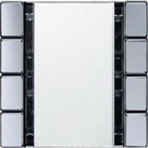 Jung KNX Tastsensor 4fach Standard aluminium A2074NABSAL