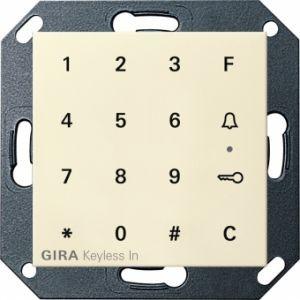 Gira 260501 Keyless In Codetastatur Cremeweiß glänzend