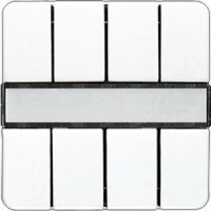 Jung KNX Tastsensor 4fach mit Funkempf. alpinweiß CD2094FWW