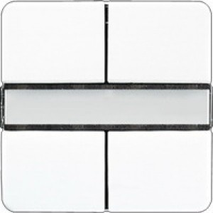 Jung KNX Tastsensor 2fach Universal alpinweiß CD2092NABSWW