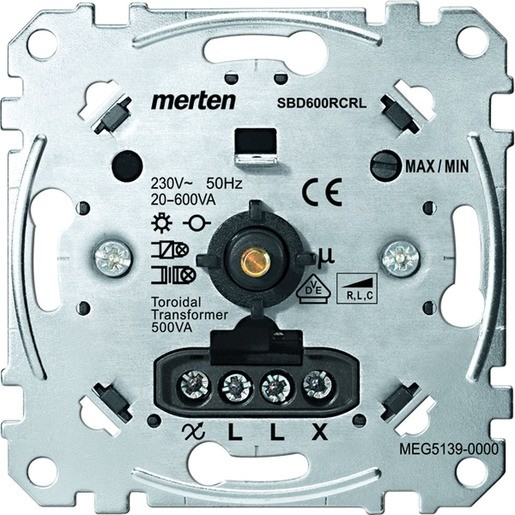 MERTEN MEG5139-0000 Universal-Drehdimmer-Einsatz