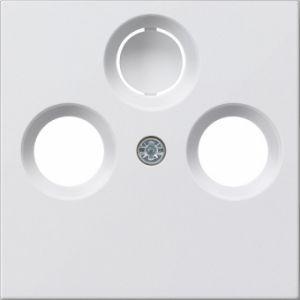 Gira 086903 Abdeckung für Antennendose Reinweiß glänzend