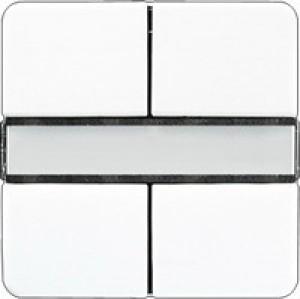 Jung KNX Tastsensor 2fach Standard alpinweiß CD2072NABSWW