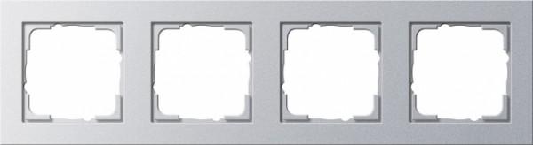 Gira 021425 Alu Rahmen E2 4fach