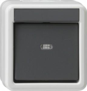 Gira 010630 IP44 Wippschalter Universal Aus-Wechselschalter