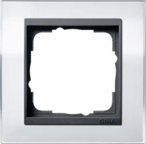 GIRA 0211728 Abdeckrahmen Event Klar Weiß 1-fach