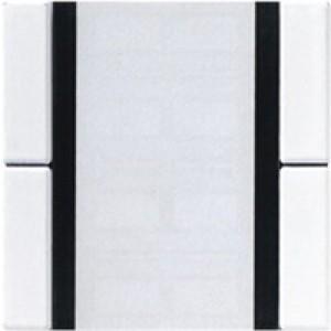 Jung KNX Tastsensor 2fach Standard alpinweiß A2072NABSWW