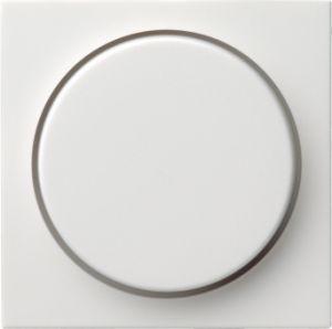 Gira 065003 Drehdimmerabdeckung Reinweiß glänzend