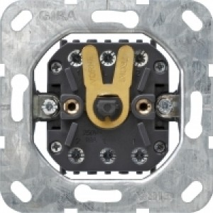 Gira 015700 Jalousieschalter und Jalousi etaster Einsatz fuer Zentralplatte