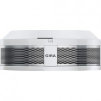 GIRA 233602 Rauchwarnmelder Dual Q, Reinweiß glänzend