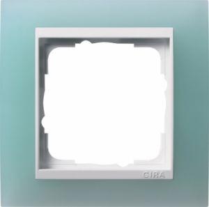GIRA 0211395 Abdeckrahmen Event Opak Mint 1-fach