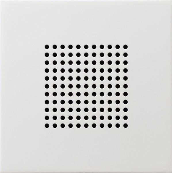 GIRA 2282112 Zusatz-Lautsprecher Reinweiß glänzend