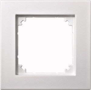 MERTEN 486119 M-PLAN Rahmen, Polarweiß matt 1-fach