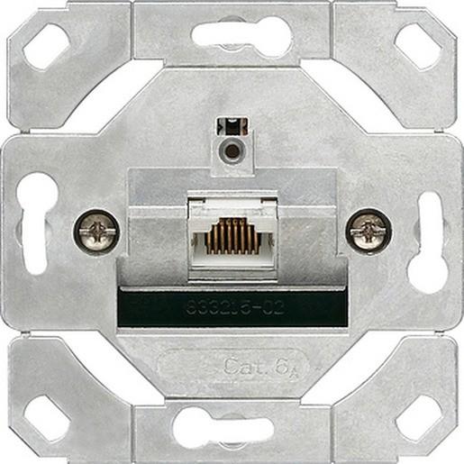 Gira 245100 Netzwerkdose 1-fach Cat.6A IEEE 802.3an