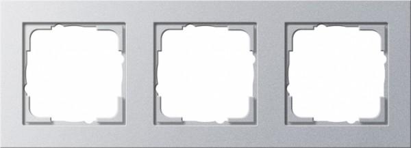 Gira 021325 Alu Rahmen E2 3fach