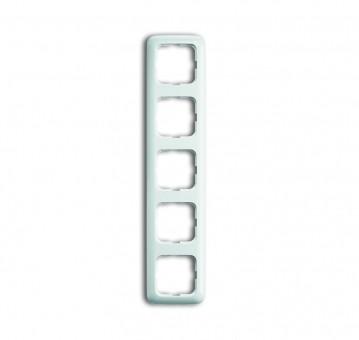 BUSCH-JAEGER Reflex SI 2515-214 Rahmen 5fach 5-fach Alpinweiß