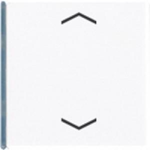 Jung KNX Taste 4fach Symbol auf/ab reinweiß A404TSAPWW14