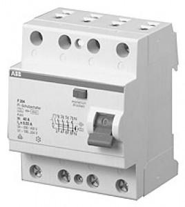 ABB Fi-Schalter F204-40/0,03 4-polig 40 Amp 0.03 SK