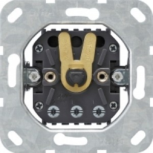Gira 015400 Jalousieschalter Einsatz für Zentralplatte mit Knebel