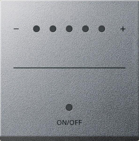 Gira 226026 System 2000 Touch-Dimmaufsatz (Sensordimmer) Alu