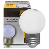 LED-Tropfenlampe,  E27/240V/1W, Lebensdauer 30.000 Stunden