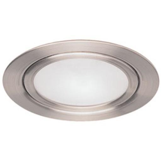 Newlec ETG 1020 CHROM, Möbeleinbauleuchte inklusive Leuchtmittel 10 W, ETG 1020 chrom