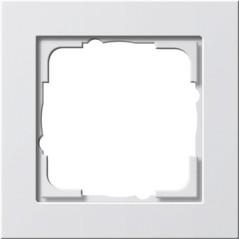 Gira Rahmen 1fach reinweiß seidenmatt 021122