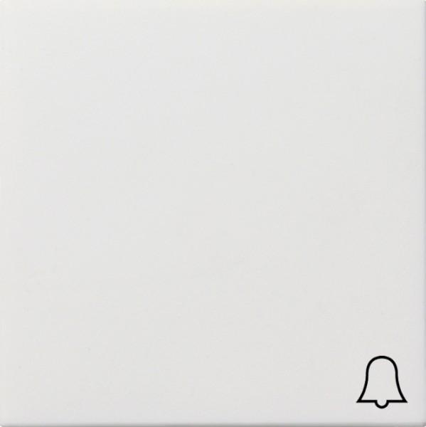 """GIRA 0286112 Wippe mit Kontroll-Fenster und Symbol """"Klingel"""" Reinweiß glänzend"""