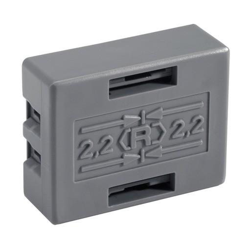 Connector 2,2, Verbindungsstück POF Verbinder