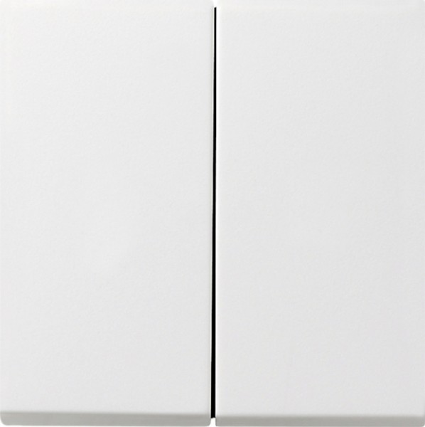 GIRA 0128112 Tastschalter Wechsel/Wechselschalter Reinweiß glänzend